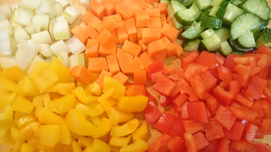 野菜 刻みサラダ
